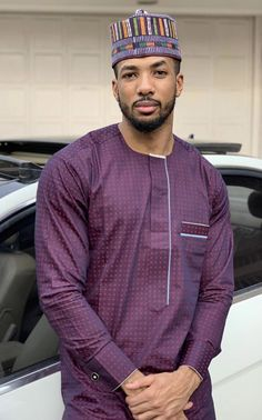 Latest Nigerian men traditional and native wears styles and designs for Naija men to rock. these are the best native senator styles for men African Dresses Men, African Attire For Men, African Shirts, Latest African Fashion Dresses, African Men Fashion, Mens Fashion Suits, Men's Fashion, Agbada Styles, Ankara Styles For Men