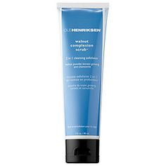 A two-in-one foaming scrub that deeply exfoliates and cleanses to purify pores and smooth the appearance of skin texture.   Walnut Complexion Scrub gently yet thoroughly exfoliates and cleanses to smooth skin. Korean ginseng supports cellular energy, stimulating natural microcirculation, aloe vera moisturizes and calms, chamomile softens and soothes, and jet-milled walnut powder sloughs dead dull surface skin cells.  What it is formulated WITHOUT: - Parabens, sulfates, phtalates