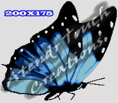 Looking for your next project? You're going to love BLUE BUTTERFLY GRAPH by designer ATENDRTOUCH.