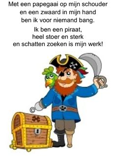 gedicht piraten - Google zoeken