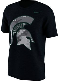 42e375b377 Show everyone you root for the Spartans with this Michigan State Spartans Mens  Black Camo Fresh Short Sleeve T Shirt! Rally House has a great selection of  ...