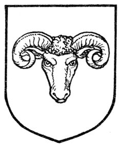 Fig. 400.—Ram's head caboshed. Date 	1909 Source 	A Complete Guide to Heraldry. Author 	 [show]Arthur Charles Fox-Davies oktouse
