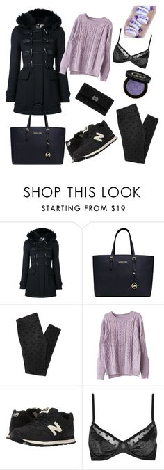 """""""Winter time"""" by maryanacoolstyles ❤ liked on Polyvore featuring Burberry, Michael Kors, Chicnova Fashion, New Balance Classics, Topshop, Chanel and Gucci"""