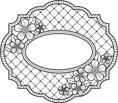 Sue Wilson Designs - Cling Stamp - Camilla Trellis  $9.50
