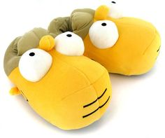 #TheSimpsons #Homer Novelty Slippers | Yellow/Multi | Wynsors #Slippers www.Slippers.com