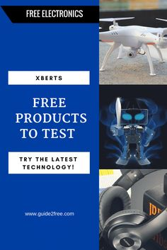 Xberts is wanting people to sign up to become product testers for electronics and tech items.  They have some really free cool items that they need people to test and review.