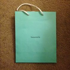 I just discovered this while shopping on Poshmark: Tiffany Paper Bag. Check it out!  Size: None