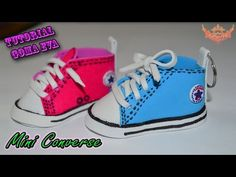 ♥ Tutorial: Mini Converse con plantilla