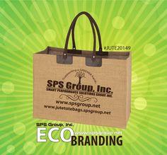 Jute / Burlap Totes #eco #branding #jute #burlap #totes #logo #promotionalproducts #sustainability