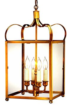 Adams Colonial Pendant Hanging Light: Handmade in USA from solid copper and brass. Classic colonial kitchen, dining room or porch lighting fixture. Porch Lighting, Exterior Lighting, Outdoor Lighting, Kitchen Lighting, Copper Lantern, Lantern Pendant, Pendant Lighting, Lantern Ceiling Lights, Wall Lights