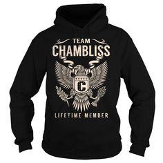 (Tshirt Cool Design) Team CHAMBLISS Lifetime Member Last Name Surname T-Shirt Discount Codes Hoodies, Funny Tee Shirts