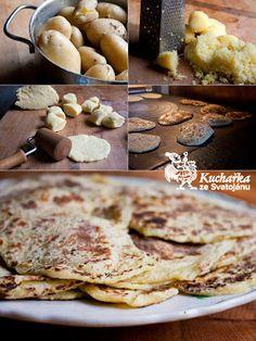 Kuchařka ze Svatojánu: BRAMBOROVÉ PLACKY Tempeh, Pancakes, French Toast, Cookies, Breakfast, Healthy, Desserts, Type 3, Food