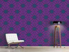 Design #Tapete Paparock Purpur