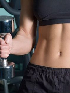 This at-home ab workout is a perfect workout to sculpt a lean, flat stomach so you can be well on your way to a six pack. These challenging core moves will help you slim your wasit down as they target your upper and lower abs as well as your obliques.