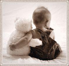 bebe et son ourson(gif)