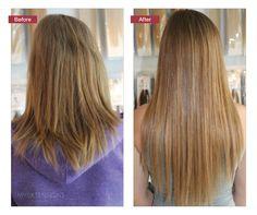 Påsætning af Hair extensions. Find selv dine hair extensions på vores hjemmeside www.myextensions.dk. Vi har et kæmpe udvalg af flere forskellige metoder og farver.