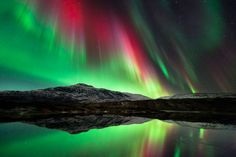 Aurora lights in Norway