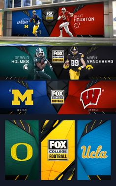 In 2017, |drive| was challenged with designing the graphic package for Fox Sports' College Football broadcast. The result is a multi functional package that adapts both to the teams that are playing and the enveloping conference, while showcasing the loud…