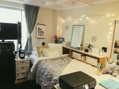 Penn State East Hall dorm room!