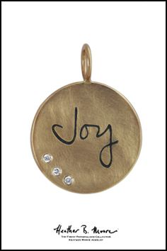 Heather B. Moore Gold & Diamond Joy Charm, $1,445.00