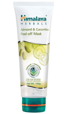 Himalaya's Almond & Cucumber Peel-off Mask is an all herbal formula that removes blemishes to reveal healthy, glowing skin.  Almond nourishes, soothes and softens the skin. Cucumber tones your facial skin and provides a cooling effect, and Pineapple removes impurities and dead skin cells to firm up the skin. Indian Gooseberry has cleansing and antioxidant properties.
