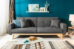 Luxusná rozkladacia sedačka antracitová. Bedroom Loft, Modern Bedroom, Bedroom Decor, Sofa Design, Banquettes, Newborn Bed, Sofas, Bed Bumpers, Gray Bathroom Decor