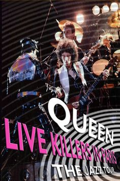 Queen Live Killers in Paris (1979) | http://www.getgrandmovies.top/movies/11894-queen-live-killers-in-paris | Concert of the Queen Live Killers world tour at the Pavillion de Paris, March 1st 1979. Songs including Fat Bottomed Girls, You're My Best Friend, Don't Stop Me Now, If You Can't Beat Them, Spread Your Wings and Dreamer's Ball. On the exhausting Jazz Tour in late 1978 for the US and early 1979 through Europe and Japan, most European dates were recorded and then later spliced…