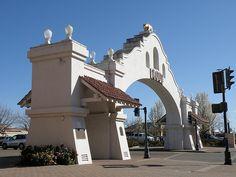 Lodi Arch, Lodi, CA