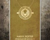 The Modern Stylographer on Etsy - lots of cool looking posters, love the Harry Potter ones.