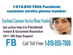 "Will Facebook Customer Service team help me out? Dial 1-850-366-6203""Yes, Facebook Customer Service team will help you out definitely. So, make a call at 1-850-366-6203 to get assisted in the following manner:- • Haven't you reset your Facebook password? • Are you aware about emoticons of Facebook? • 24/7 availability. For further information take a look at http://www.monktech.net/facebook-customer-care-service-hacked-account.html """