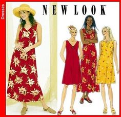 New Look 6866 from New Look patterns is a Misses Dress sewing pattern Beginner Sewing Patterns, Modern Sewing Patterns, Mccalls Patterns, New Look Dress Patterns, 70s Fashion, Fashion Dresses, Kinds Of Clothes, Clothes For Women, Robe Diy