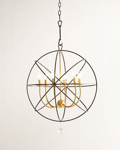 Gold Orbit 6-Light C