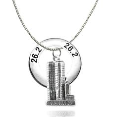Chicago marathon charm...love this:) maybe Christmas present to myself:)