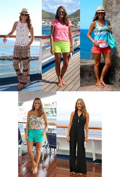 Cruise casual outfits