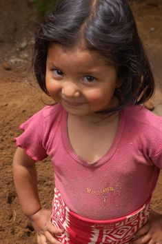 Guatemala- Living in poverty with dirt floors..
