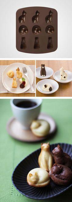 Silicone Cat Baking Pat, for tea biscuits #OhlandtVet