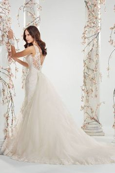 Wedding Dress of the Day This dramatic Sophia Tolli gown certainly has us dreaming