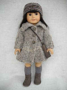 American Girl Doll Clothes MATCHING PATTERN by Frenchieandme