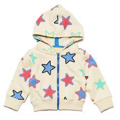 Boys&Girls SS15 collection starburst kids hoodie | LittlePeco.com