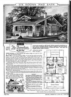 "Sears home--""The Bandon"""