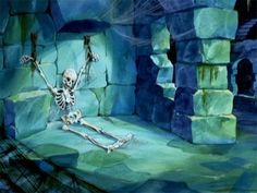 These old Scooby-Doo background paintings are pretty amazing | Dangerous Minds