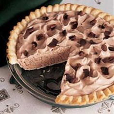 Frozen Chocolate Pie Recipe