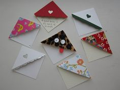 corner bookmarks or table place names