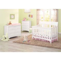 Graco Rory 5-in-1 Convertible Fixed-Side Crib, Choose Your Finish - Walmart.com