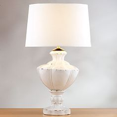 Amelie Table Lamp   A matching set for the nightstands in the master bedroom