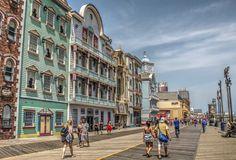 Atlantic City Boardwalk by JimAbbott1