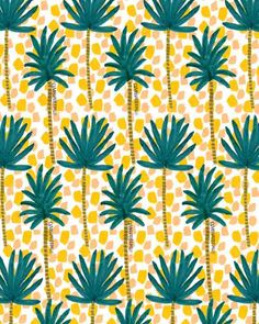 Palm Trees and Dots II.