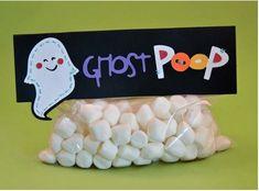 DIY Ghost Poop