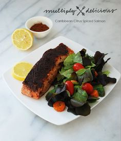 Multiply Delicious- The Food | Caribbean Citrus Spiced Wild Salmon