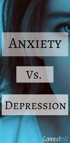 Anxiety and depression are much different, yet have very similar symptoms. Both conditions can be both scary, and debilitating. #anxiety #depression #mentalhealth #mentalillnesses